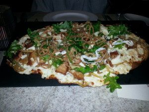 Pork Belly Flatbread
