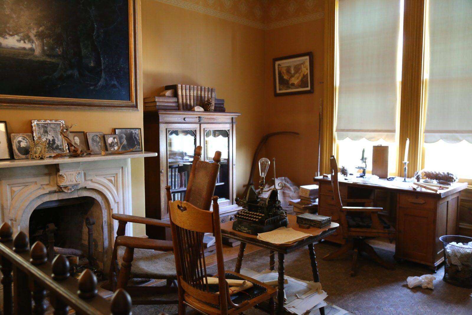 John Muirs office.